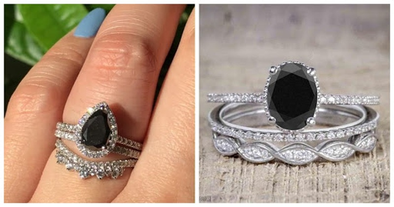 6 Black Diamond Engagement to Consider for Your Lady Love