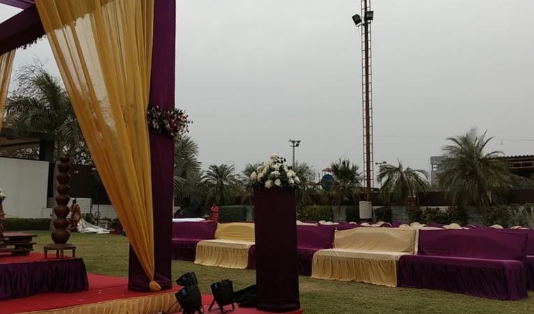 Basera Party Plot Ambli Ahmedabad - Wedding Lawn