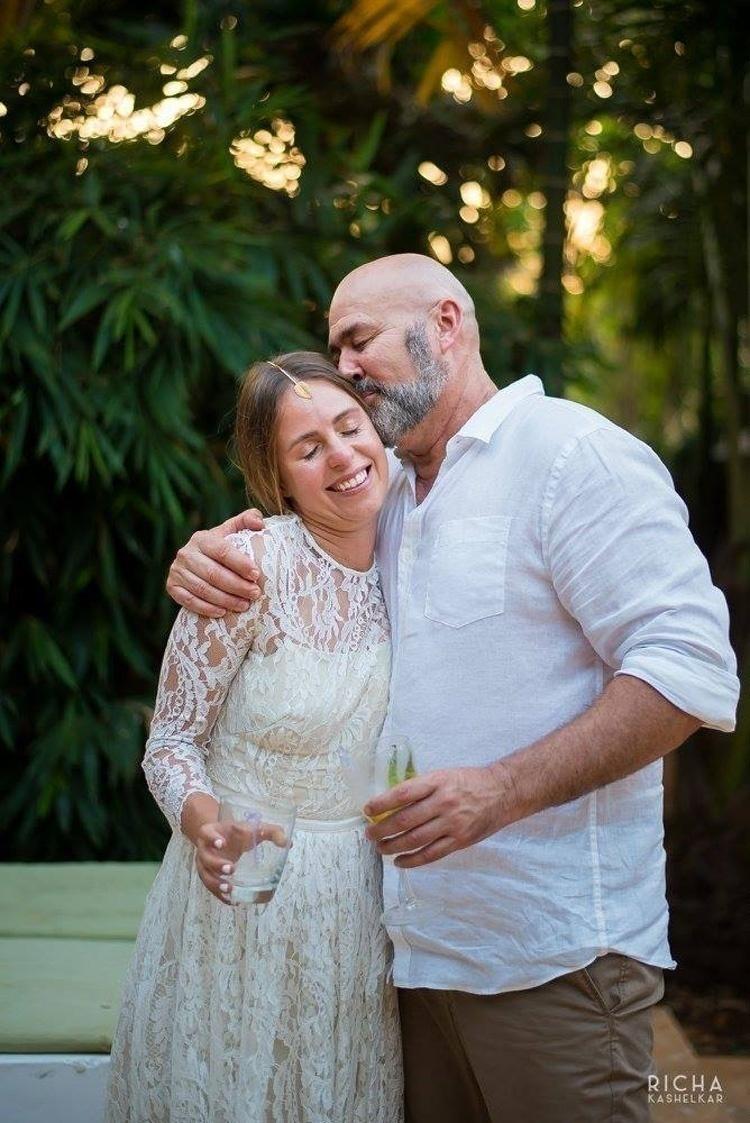 Opal and Ollie's Uber Pinterest-y Green Wedding held in Ashwem, Goa