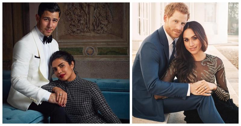 Priyanka Chopra and Nick Jonas Recreate Prince Harry And Meghan Markle's Royal Engagement Picture & How!