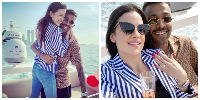 Cute Proposal Alert: Hardik Pandya Proposes to Girlfriend Natasa Stankovic on New Year's Day