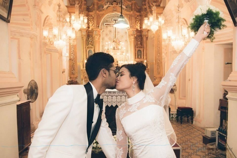 See it here! How to Perfectly Coordinate Your Wedding Outfits