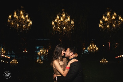 This romantic bride and groom will give you #CoupleGoals.