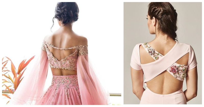 20 latest blouse back designs to pair with your saree or lehenga in 2019
