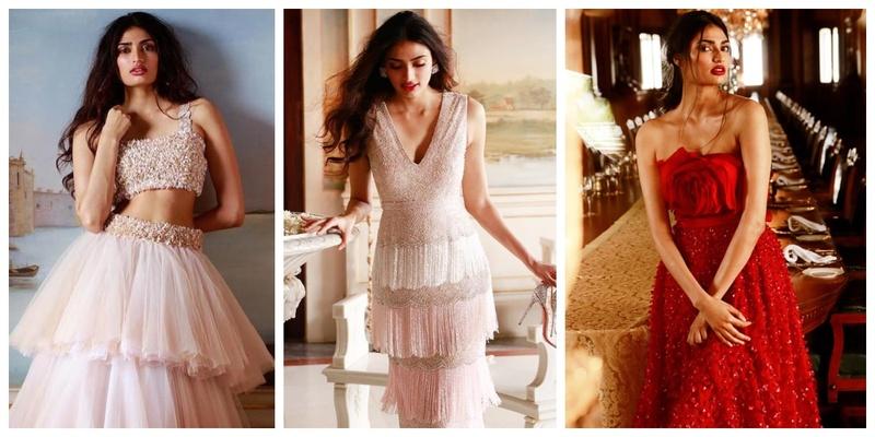 Atthiya Shetty looked like a true diva in Shriya Som's latest bridal collection!