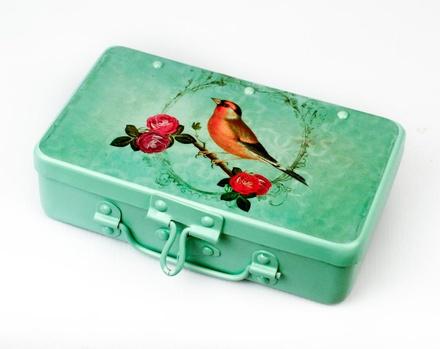 Fluke Design Company Bird Design KeepSake Box