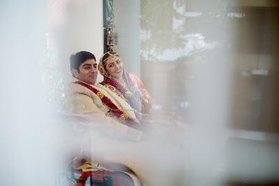 Candid wedding couple shot !
