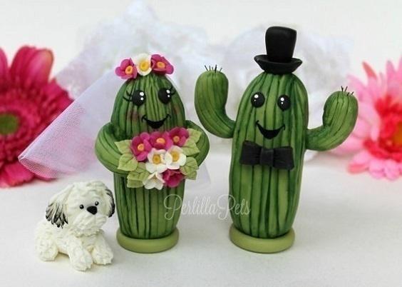 Cutesy Saguaro Cactus