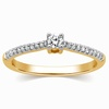 Serena Diamond Platinum Ring image