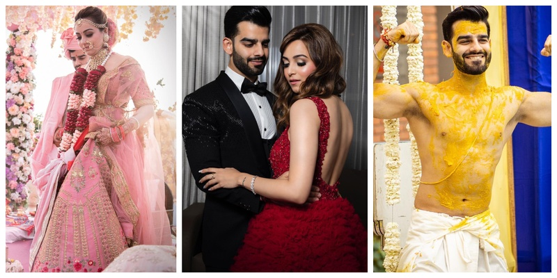 Komal Matta, a fashion blogger tied the knot with her longtime bae and their pictures are all about love, fun and fashion!