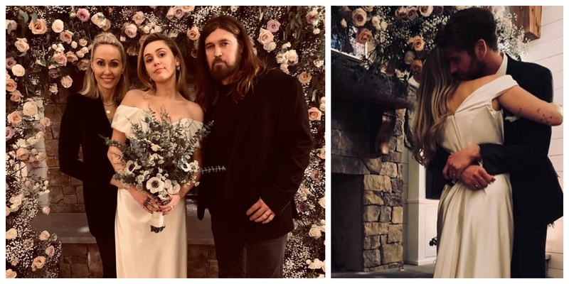 Miley Cyrus tied the knot with Liam Hemsworth in an intimate Wedding Ceremony and I'm loving their Wedding Pictures!