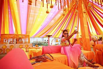 Intricate mehendi designs for bride