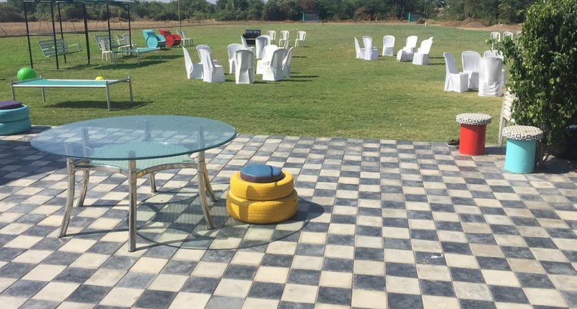 Pushkar Resort Jamnagar Road Rajkot - Wedding Lawn
