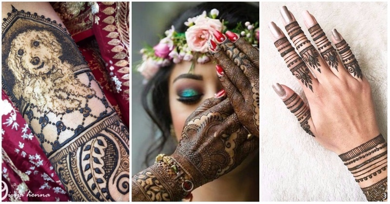 12 Cool Mehndi Designs That Every 2017 Bride Must Check Out