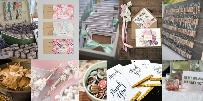#SummerWeddingSeries – Chic Wedding Favours and Invitations That You'll Want to Save