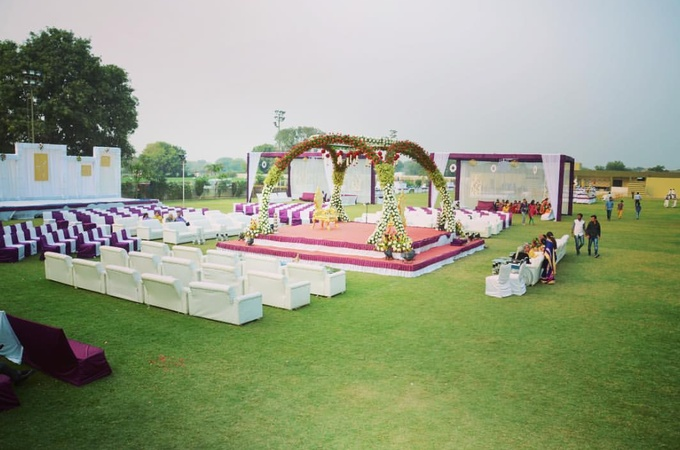 Poddar farmhouse Vesu Surat - Wedding Lawn