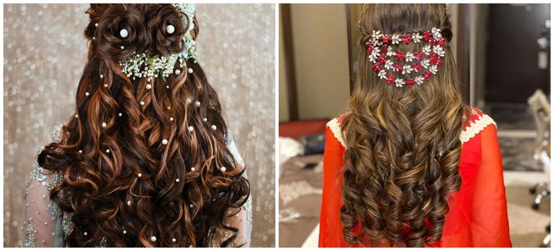 10 Beautiful Floral Hairstyles for Brides and Bridesmaids