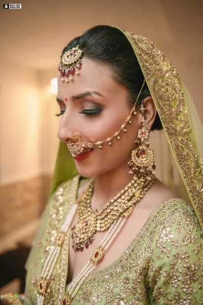 The bride is all set for her D-day!