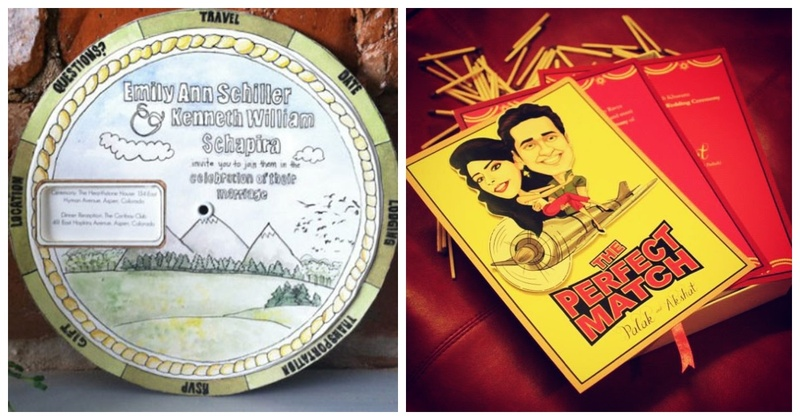 12 Quirky Wedding Invites to Impress Your Guests!