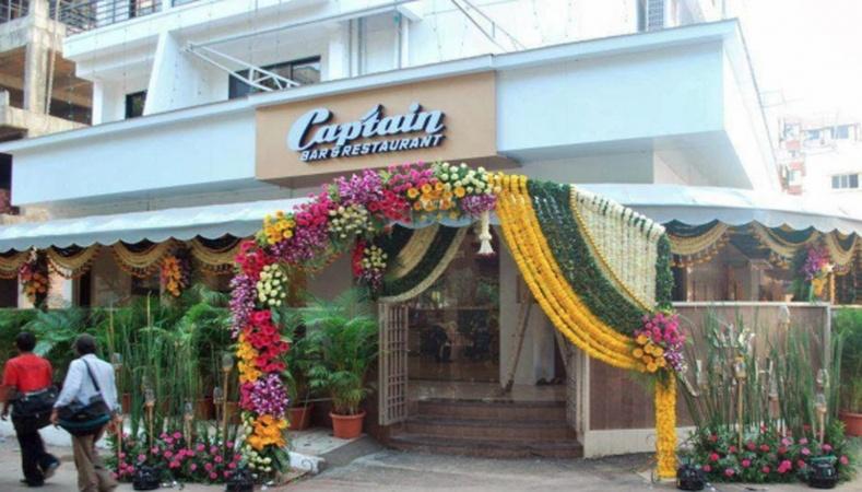 Captain Restaurant and Banquet Hall Kalamboli Mumbai - Banquet Terrace