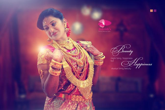 Jukrith Best Professional Bridal Makeup Artist in Chennai | Chennai | Makeup Artists