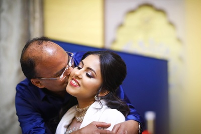 super cute picture of the bride and her father
