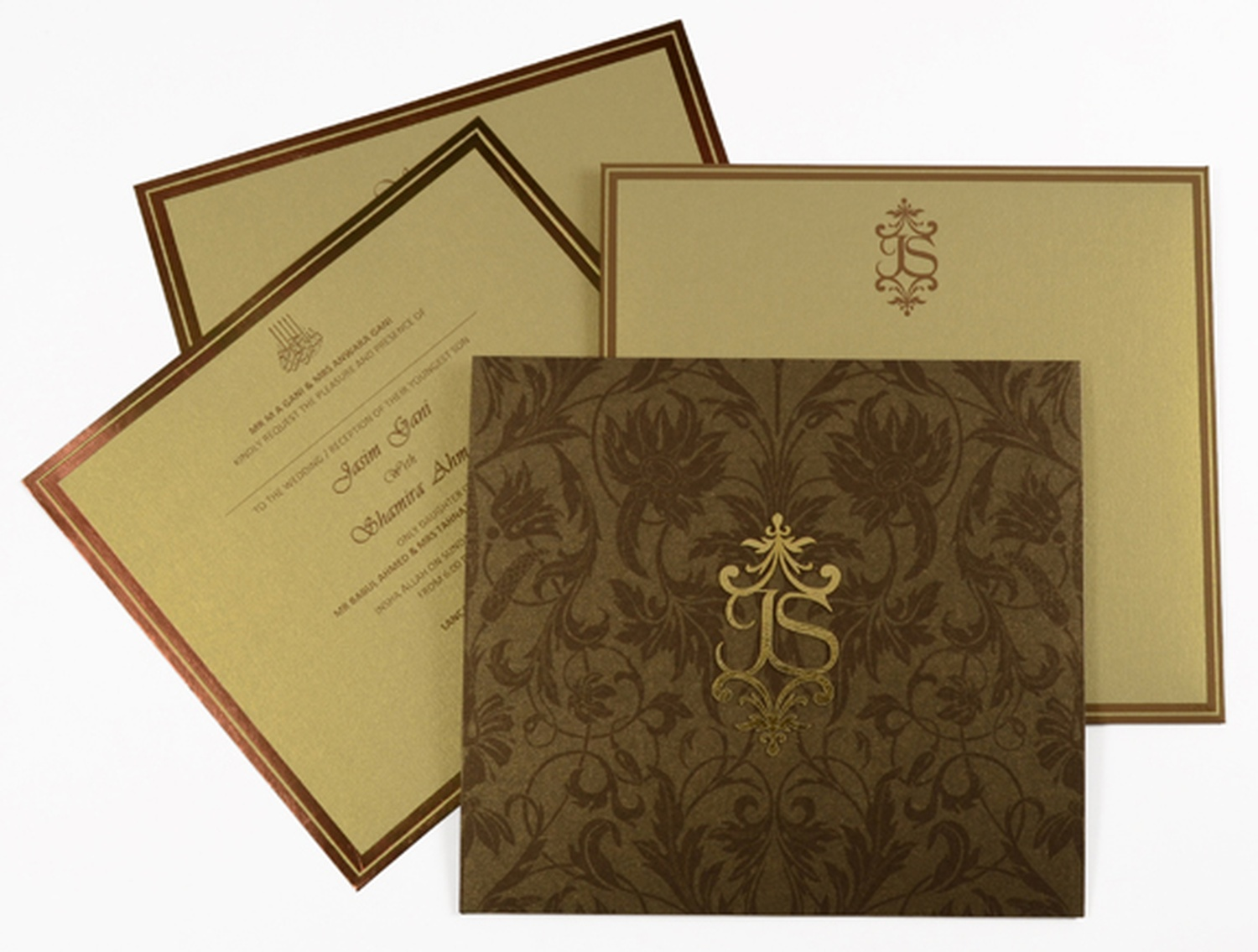 Creative invites the exclusive wedding cards shop wedding overview stopboris Images