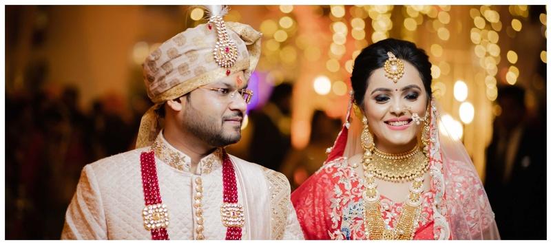 Abhinav & Anshika Gurugram : Jab Anshika and Abhinav clicked together for life!