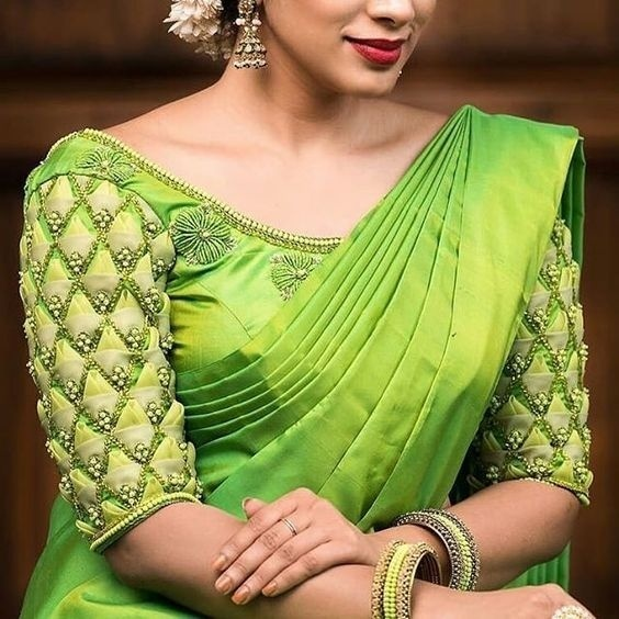40 Wedding Blouse Designs 2018 To Rock Your Bridal Look Blog