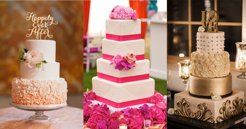 Delicious Wedding Cakes That Made us Salivate!