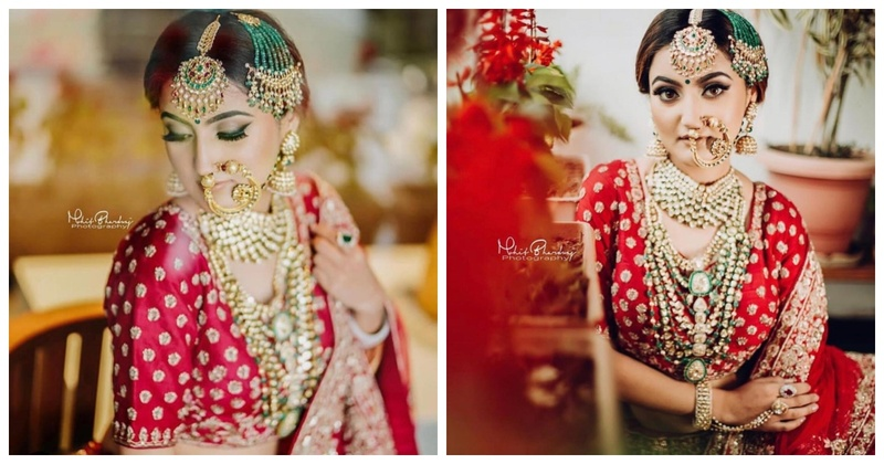 Chandni Chowk's best and oldest bridal lehenga shop OPJL has something for everybody in store!