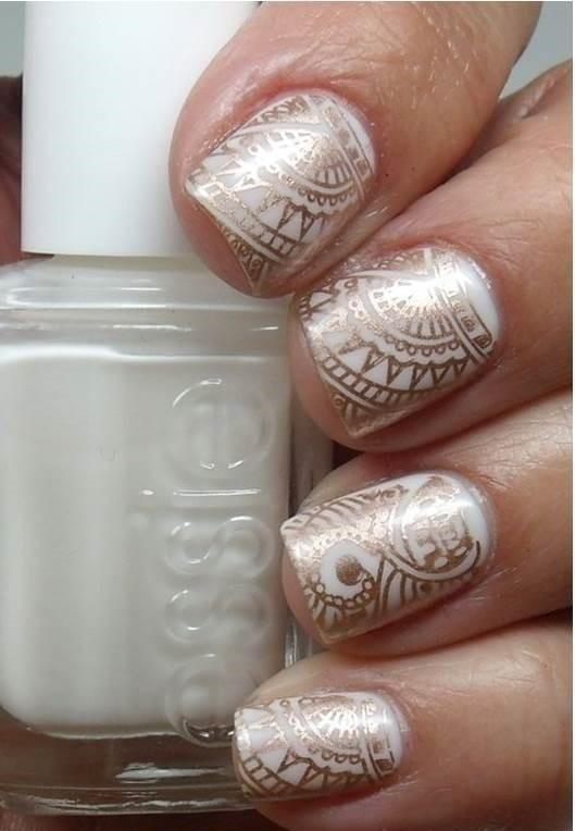 50 Stunning Bridal Nail Art Designs To Rock At Your Wedding Blog