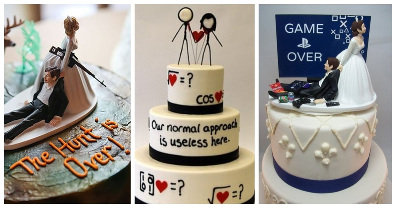 10 Quirkiest and Funniest Wedding Cakes we came across in Weddings!