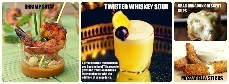 Dish Up These Snacks with a Twisted Whiskey
