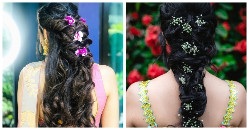 10 Alluring Bridal Hairstyles that Brides Can Opt for Their Mehndi or Haldi Ceremony!