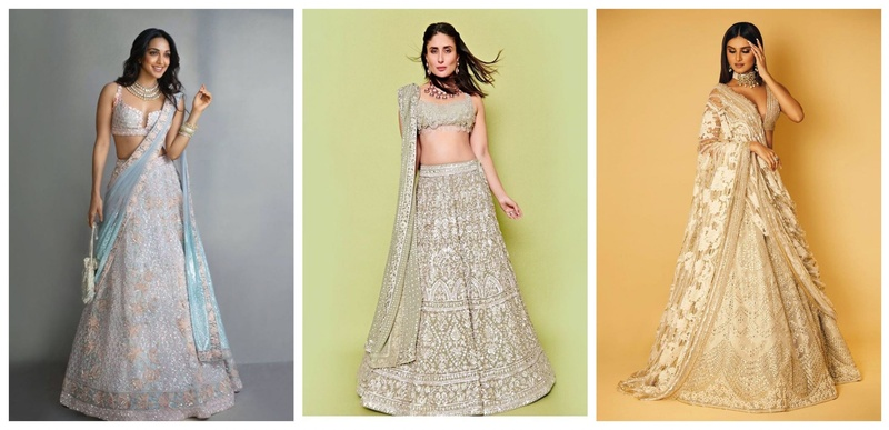 7 Neutral Lehengas for Bridesmaid Outfit Inspiration