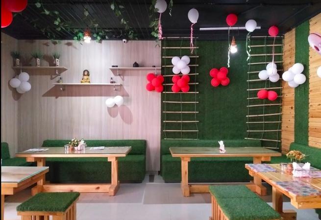 Rain Foresto Cafe Khyora Kanpur - Banquet Hall