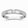 Elba Men's Soliraire Engagement Platinum Ring image
