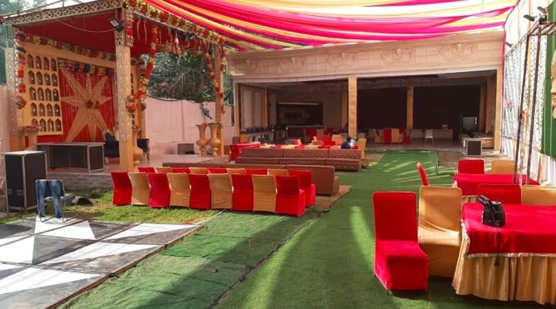 G Grand Green Garden Dwarka Delhi - Wedding Lawn