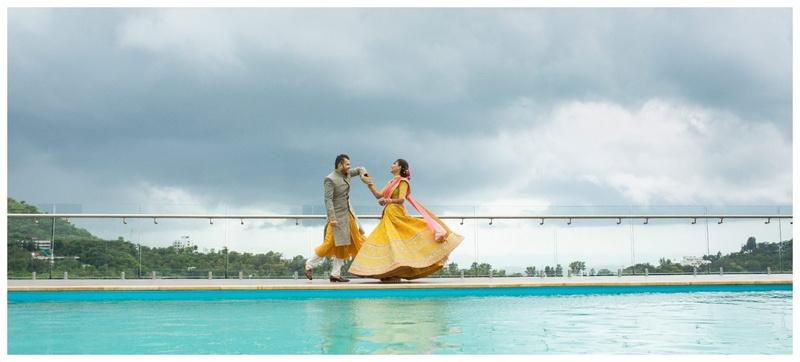 Lockdown Destination Wedding: Dhwani Weds Kevin in Saputara