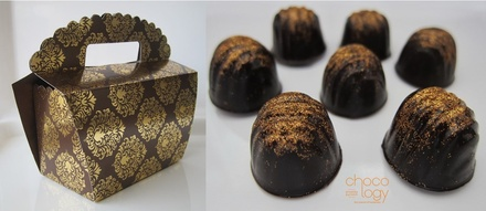 Chocology Glitter Dust Chocolate Favor