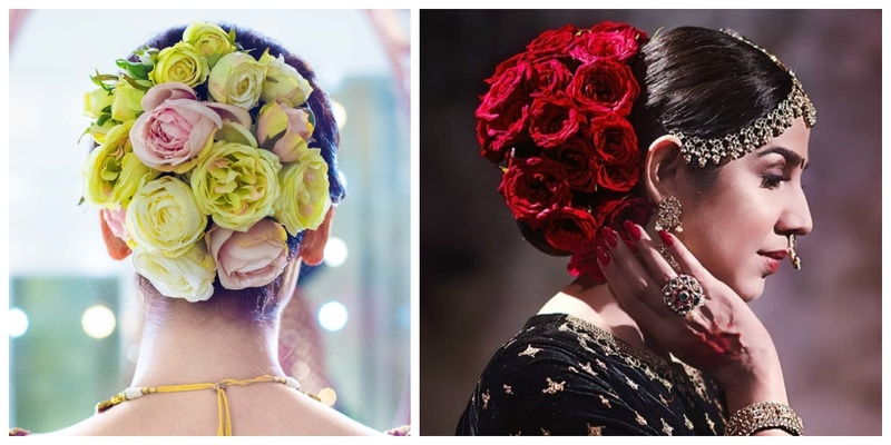 10 floral buns for that perfect wedding day hairdo!