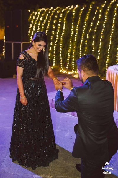 Karthik goes down on his knee and proposes to Arushi- a moment we could love to freeze!