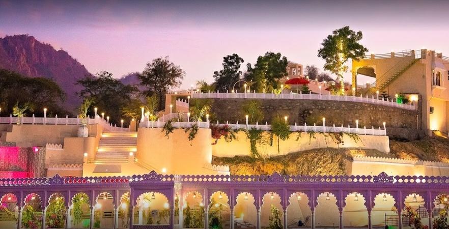 Riviera Madaar Resort Badgaon Udaipur - Banquet Hall