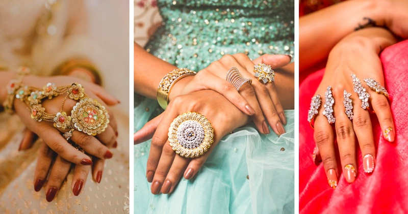 The Most Gorgeous Hand Jewellery we spotted on Real Brides!