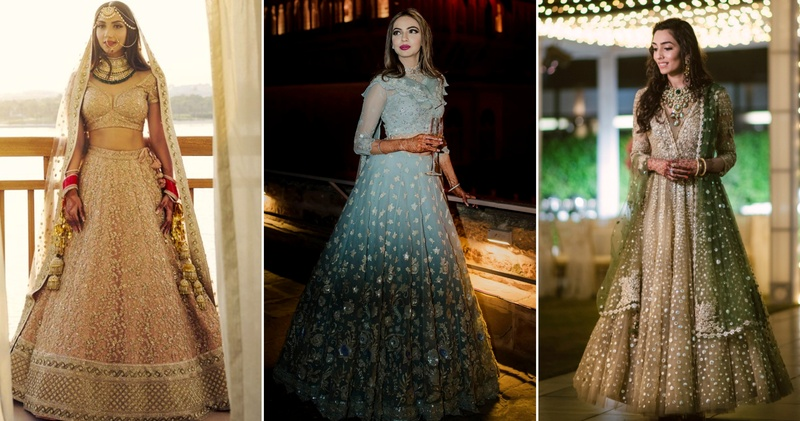Tarun Tahiliani & Manish Malhotra Lehengas Put Real Indian ...