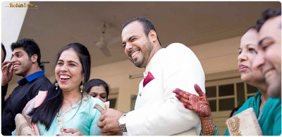 Candid wedding pictured captured by Robin Saini