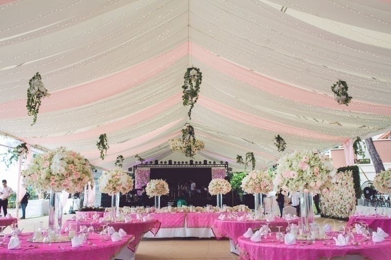 CHERRY BLOSSOM THEMED WEDDING & RECEPTION