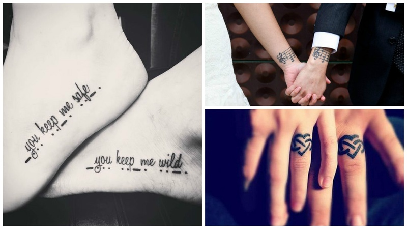 Couple Tattoos for the Much in Love Soulmates: It's not as difficult as You Think!