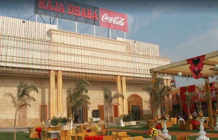 Raja Dhaba Banquet and Lawn Jagraon Ludhiana - Banquet Hall